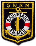 Socit Nationale de Sauvetage en Mer.